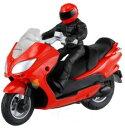 タカラトミー CAUL カウル iRC バイク ラジコン ホンダ フォルツァZ レッドの画像