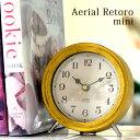 置き時計 【送料無料】 Aerial Retoro mini エアリアル レトロ ミニ T-688/置時計/スイープムーブメント/シャビー/かわいい/おしゃれ/アンティーク/人気/デザイン/インテリア/フレンチ/北欧/ノア精密 AL CLOCK