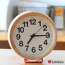 3240円以上ご注文で送料無料中 【ポイント10倍】掛け時計 置き時計 Lemnos レムノス Clock A Small Clock B Small Cloc...
