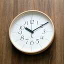 掛け時計 【ポイント10倍&送料無料】【Lemnos/レムノス】riki clock RC リキクロック Lサイズ/WR08-26/電波時計/電波/渡辺力/壁掛け/壁掛け時計/掛時計/おしゃれ/人気/デザイン/北欧/渡辺力/クロック/ AL CLOCK