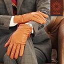 【メール便のみ送料無料】 Attivo(アッティーヴォ) 革手袋 レザーグローブ 男性用/全6色 秋冬物 指先スマホ対応(一部カラーのみ) 羊革(ラムスキン)/裏地ベルベット仕様 [ATKU010]