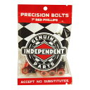 インディペンデント INDEPENDENT/1 PHILLIPS ( BLACK/RED ) ビス、ナット