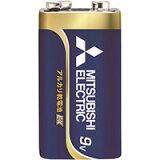 ☆三菱 POWERアルカリEX アルカリ電池 9V 角型 6LR61EXJ1S