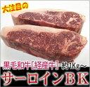 【業務用】九州産黒毛和牛サーロイン 経産牛 約1kg〜 量り...