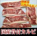 【超希少部位】国産骨付きカルビ約500g