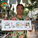 【予約】ハワイの花文字花文字・Letter Art製作の予約受付♪基本料:3000円、1文字:500円※9/12 12時までのオーダーで最短9/16(金)発送!Elton作となります。基本代金に木製フレーム付き!
