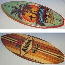 ハワイアン・サーフボード置物(1個)スタンド付きサインボード※デザインをお選びください♪