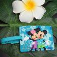 ハワイ限定!ディズニーAULANI(アウラニリゾート) ラゲッジタグ、ネームタグミッキーマウスとミニーマウスの可愛いデザイン♪
