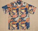 《送料無料》アロハシャツ Mede In Hawaii(メイドインハワイ)Kona Bay Hawaii アロハシャツ(レーヨン100%)1度だけサイズ交換を無..