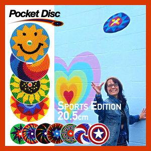2013SSNEWカラー【PocketDisc/ポケットディスク】[スポーツエディションO]いつでも!どこでも!自由自在に遊べるコットン製のフライングディスク。フリスビー鍋敷等たくさんの使い道!お子様も安全!子供キッズ