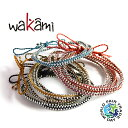 wakami ブレスレット ワカミ Life Is What You Make Of It - Short Necklace - [WA0295] ショートラップ [メール便] ギフト