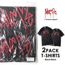 Love me ラブミー 2PACK Tシャツ (Black×2) on American Apparel カーティス・クーリグ アメリカンアパレル 【SPS03】