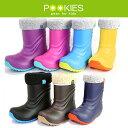 スノーブーツ キッズ プーキーズ POOKIES [PK-EB510] キッズ 軽量防寒ブーツ インナーボア付 ジュニア ユース 子供用 長靴 [売れ筋]