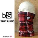 フェイスマスク スノーボード 防寒 [メール便対応] THE TUBE [BS35] [RED PLAID] Blackstrap ブラックストラップ 【MAD...