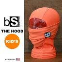Blackstrap / ブラックストラップ THE KIDS HOOD [BS55] [BRIGHT ORANGE] 【MADE IN USA】[メール便対応...