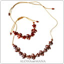 Set amkn582set of the Hawaiian jewelry necklace oar core Wood frangipani, sea turtle necklace and bracelet