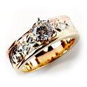 (Weliana)ONLYONE エンゲージリング 結婚指輪 婚約指輪 ハワイアンジュエリー リング...