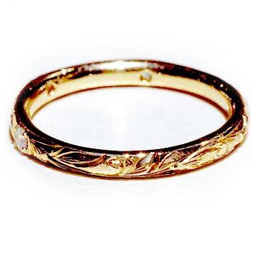 リング ハワイアンジュエリー アクセサリー レディース メンズ (Maxi) プリンセスマリッジリング   ダイヤ0.03ct・K18ゴールド mxrimr11a ハワイアンジュエリー 結婚指輪 マリッジリング  マリッジや記念日など特別な日にふさわしいリング