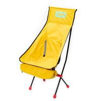 チャムス Folding Chair Booby Foot High (CH62-1171) キャンプ チェア : Yellow-Y001 CHUMSの画像