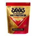 【10/25はエントリーでP10倍!】 ザバス ホエイプロテイン100 ココア味 2520g 120食分 (CZ7429) プロテイン SAVAS