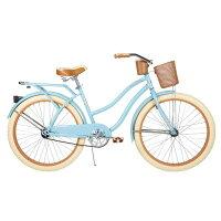 自転車 26インチ Huffy Nel Lusso Womens Cruiser Bike, Gloss Blueの画像