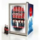 コカ コーラ レトロ 冷蔵庫 68L 80缶 カリフォルニア 西海岸 Nostalgia BC24COKE Coca-Cola 80-Can Commercial Beverage Cooler 家電