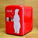 コカ コーラ パーソナル 6缶 ミニ 冷蔵庫 冷温庫 レトロ カリフォルニア 西海岸 Koolatron KWC-4 Coca-Cola Personal 6-Can Mini Fridge 家電