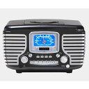 ラジオ CDプレイヤー Bluetooth クロスリー コーセア Crosley Radio Corsair CR612 家電
