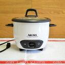 アロマ 6カップ 炊飯器 フードスチーマー ホワイト 白 A...