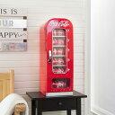 コカ コーラ 自動販売機型 冷蔵庫 レトロ カリフォルニア 西海岸 10-Can-Capacity Vending Fridge 家電