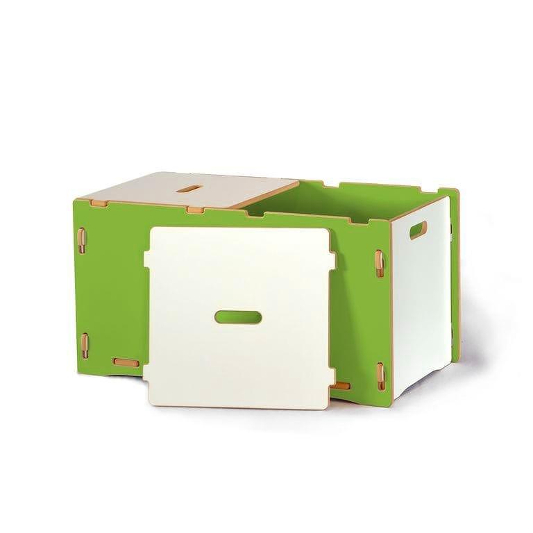子供用おもちゃ箱 トイボックス キッズオーガナイザー ストレージ スプラウト グリーンToy Box Sprout