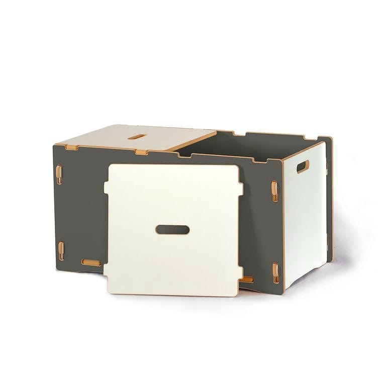 子供用おもちゃ箱 トイボックス キッズオーガナイザー ストレージ スプラウト グレイToy Box Sprout