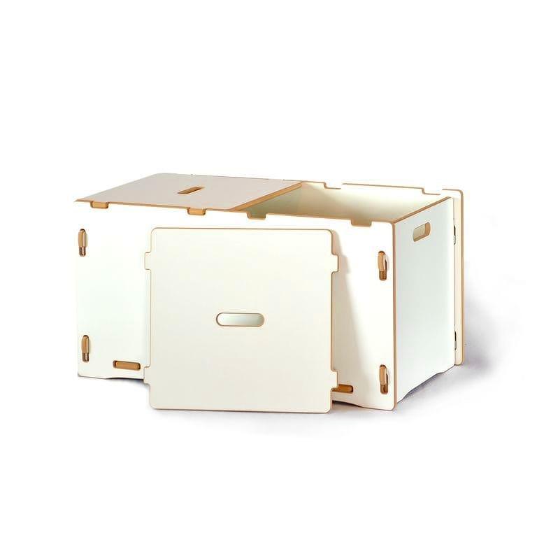 子供用おもちゃ箱 トイボックス キッズオーガナイザー ストレージ スプラウト ホワイトToy Box Sprout