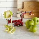 野菜 果物 フルーツ じゃがいも 皮むき器・芯取り器(ピーラー) Apple and Potato Peeler (Fruit and Vegetable Peeler-Corer)