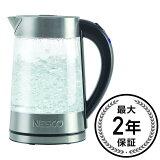 ネスコ ガラスウォーター 電気ケトル 1.7L Nesco GWK-02 Electric Glass Water Kettle, 1.8-Quart, Gray