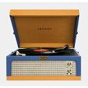 クロスリー ターンテーブル ダンセットジュニアポータブルレコードプレーヤー Crosley Turntable Dansette Junior Portable Record Player CR6234A-BT 家電