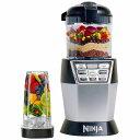 1台2役 ニンジャ Auto-iQ ミキサー フードプロセッサー デュオ Nutri Ninja Nutri Bowl Duo (Processor, Nutri Ninja Cups) NN102