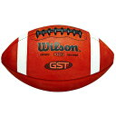 アメフト フットボール アメリカ製 革Wilson GST NCAA Leather Game Football
