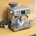 GACKTさん愛用!カラーパネルでメニューを選ぶだけ!グラインド、タンピング、ミルクフォームも自動です!エスプレッソからカプチーノまで、お好きなコーヒーでおうちカフェ