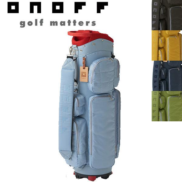 ONOFF ゴルフ キャディ バッグ 9型 OB0417 オノフ 日本正規品 (2017年 モデル) 【送料無料】2017年モデル