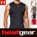 アンダーアーマー ヒートギア アーマー コンプレッション タンクトップ 1257469 メンズ Tシャツ (スリーブレス ノースリーブ ノースリ) ARMOUR SHORT SLEEVE USA モデル