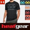 アンダーアーマー ヒートギア アーマー UAロゴ ブロック スポーツスタイル 半袖 メンズ Tシャツ 1305667 メンズ Tシャツ ARMOUR HEATGEAR USA モデル