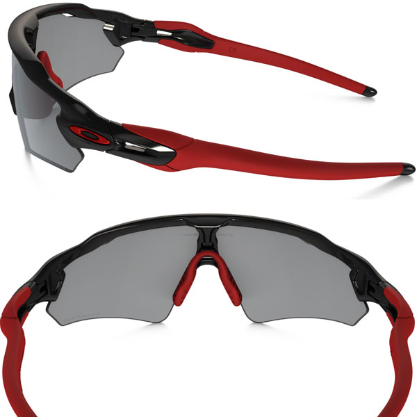oakley men's radar path iridium polarized asian fit sunglasses