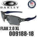 オークリー チーム USA フラック 2.0 XL サングラス OO9188-18 OAKLEY FLAK 2.0 XL TEAM USA ブラック イリジウム...