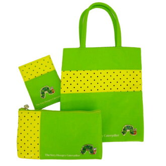-532 Very hungry caterpillar the odekake set (green)