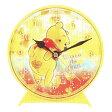 【ディズニー くまのプーさん】●ファジー柄クロック[036103]【Disneyzone】