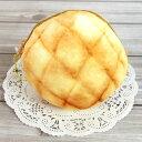 【おもしろ雑貨】●まるでパンみたいなもちもちポーチ(メロンパン)★MARU DE PAN★[427986]