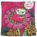 【ムーミン】●クッションカバー(リトルミイ/花におすわり)[543148]