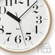 【OFFクーポンあり】【ポイント最大16倍!】Lemnos Riki Clock レムノス リキ クロック RC WR07-11 WH 電波時計 [掛け時計/かけ時計]