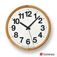 【OFFクーポンあり】【ポイント最大16倍!】Lemnos ClockA レムノス クロックエー YK14-05 [掛け時計/かけ時計]